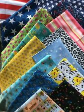 Favorite Fabric Quarters - 100% Cotton - 18x21""