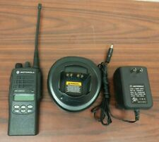 EXCELLENT Motorola HT1250 LS+ UHF 450-512MHz AAH25SDH9DP5AN + Charger & Antenna