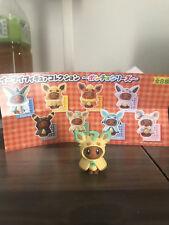 Pokemon Center Japan Exclusive Eevee Poncho Leafeon Gashapon Figure