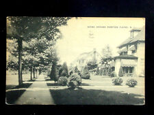1940's? Homes Scene around Pompton Plains NJ post card