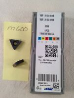 5 NEW ISCAR 16ER 1.00 ISO THREADING CARBIDE INSERTS. GRADE IC908 {M600}
