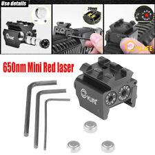 Mini Red Dot Gun Sight Laser with Rail Mount f/ Pistol Handgun Low Profile Rifle