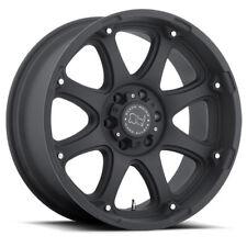 17 inch 17x9 Black Rhino Glamis Matte Black wheel rim 6x135 -12