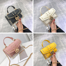 Luxury Transparent Shoulder Bags Two sets Women Clear PVC Small Totes Crossbody