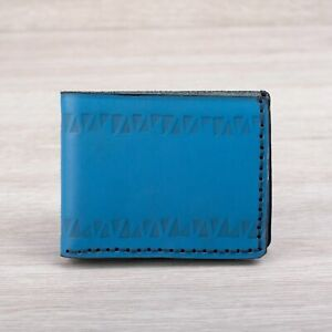 Unisex Handmade Personalized Leather Wallet | Egyptian Design