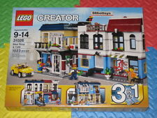 LEGO Creator 31026 Bike Shop & Café NEW