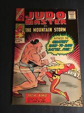 JUDO MASTER #89  1ST ISSUE  CHARLTON FILE COPY  1966  9.4  NM