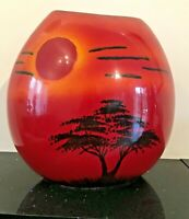 Poole Pottery African Skies Purse Vase - LARGEST
