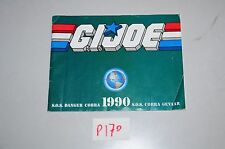 P170 gi joe booklet 1990 tiger force outback roadblock viper hardball tripwire