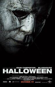 Halloween 2018 Poster Print A0-A1-A2-A3-A4-A5-A6-MAXI C129