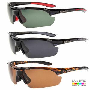 Polarized Sunglasses New Black Fishing Men Glasses Sport Men Silver Lens Aviato
