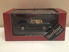 █▓▒░★ 1/43 FIAT 2300 S CABRIOLET OPEN - 1962 STARLINE MODELS 560528 NEUF ★░▒▓█