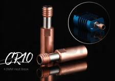 CR10 Ender 3 Ender 5 heatbreak / Zuführrohr, Bimetall, Kupfer / Stahl, optimiert