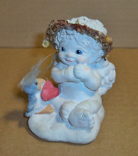 "Dreamsicle Figurine, ""Have A Heart"", Holding a Bird."