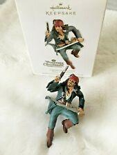 2011 Disney Hallmark Jack Sparrow Christmas Pirate CARIBBEAN CHRISTMAS Ornament