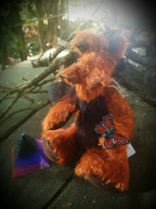 Hand crafted Plush Butterfly fae dragon  - Plush Collectable Dragon