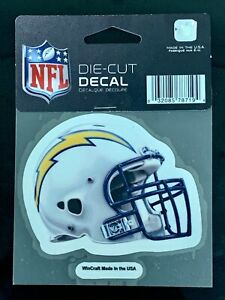 """San Diego Chargers Classic 4""""x4"""" Die Cut NFL Logo Vibrant Decal Sticker Decor"""