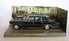 ZIL 117 CASINO ROYALE JAMES BOND 007 UNIVERSAL HOBBIES 1/43 ATLAS RUSSIA RUSSIE