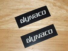 Dynaco NOS Amplifier LOGO BADGE NAMEPLATE (PR) -- Stereo 80/120, later ST70 Mk3