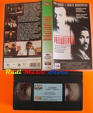 film VHS PHILADELPHIA Tom Hanks Denzel Washington Columbia Tristar (F13*) no dvd