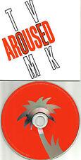 TOM VEK Aroused CARDED SLEEVE UK PROMO DJ CD single 2011 MINT