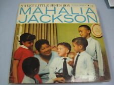 MAHALIA JACKSON SWEET LITTLE JESUS BOY RECORD ALBUM LP