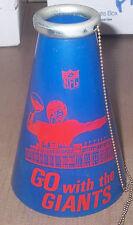 1960's New York Giants Plastic  NFL Megaphone