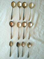 Vintage Oneida Community Silver Plate Flatware Spoons Evening Star Pattern   B13