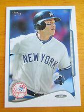 Rare! 2014 TOPPS (Series 2)- ERROR - NO NAME - Jacoby Ellsbury #650 Yankees
