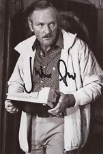 JAMES BOND FOR YOUR EYES ONLY: JULIAN GLOVER 'ARISTOTLE' SIGNED 6x4 PHOTO+COA