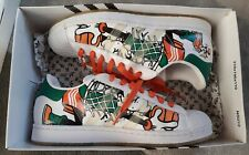 Adidas Disney Superstar 35th Anniv Goofy Pattern super rare shoes from 2004