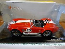 Voiture 1/18 SOLIDO : SHelby Cobra 427 1965 rouge