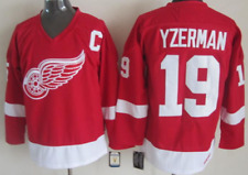 Red Wings Red Steve Yzerman Jersey M, L, XL, 2XL, 3XL
