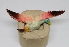 Vintage Estate Carved Tinted Celluloid Duck or Goose Bird Pin Brooch Jewelry