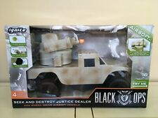 Ignite-AIRSOFT SEEK AND DESTROY Justice Dealer Camo 16 Tank RC Toy NEW UNOPENED