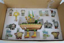 Rare 2005 Department 56 Krinkles Noah's Ark 13- Piece Set NMIB Patience Brewster