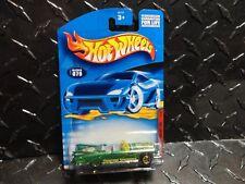 2001 Hot Wheels #79 Green 1959 Cadillac w/Gold 5 Spoke Wheels