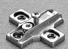 Base basetta di fissaggio regolabile in zama per cerniere SALICE H02 (a coppia)