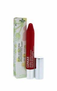 CLINIQUE CHUBBY Plump & Shine Lip Plumping Gloss 05 POWERHOUSE PUNCH 0.13 oz NIB