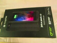 New Black Mophie Juice Pack Air Protective Battery Case Apple iPhone 7 Plus  NIB