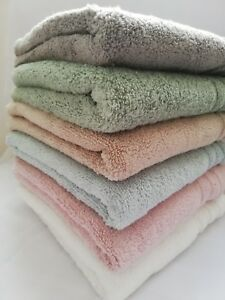 Luxurious Soft Zero Twist Cotton Towels Face Hand Bath Towel Bath Sheet Bathroom