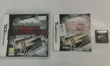 Nintendo DS Game - James Patterson: Womens Murder Club - Games of Passion - Exce