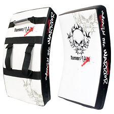 TurnerMAX Large Curved Strike Kick Shield Thai kick Pad Training for Martial Art
