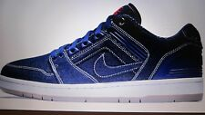 Chaussure Nike SB Air Force II Low, Homme, Neuve, Bleue & Blanche, Taille 42.5