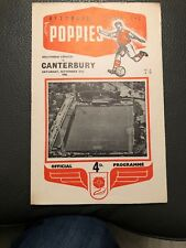 Kettering Town v Canterbury, (Southern League Div 1), 27.11.1965.