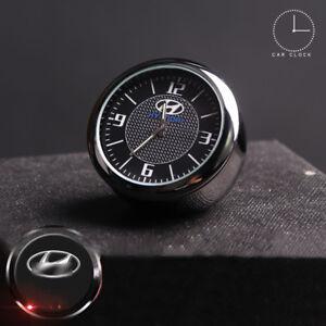 Car Clock Fit For Hyundai Refit Interior Luminous Electronic Quartz Ornaments