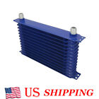 Blue Oil-cooler 50 F Cooling 13-rows Power Coated Aluminum Engine Transmission