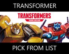 Transformers TCG Base Set Wave 1 Transformer - Pick From List