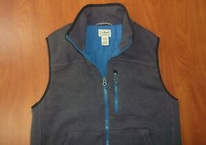 LL Bean Sweater Fleece Primaloft Jacket Vest M
