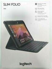 Logitech Slim Folio Keyboard Case for iPad 5th Gen. 2017 - Black (920008617)